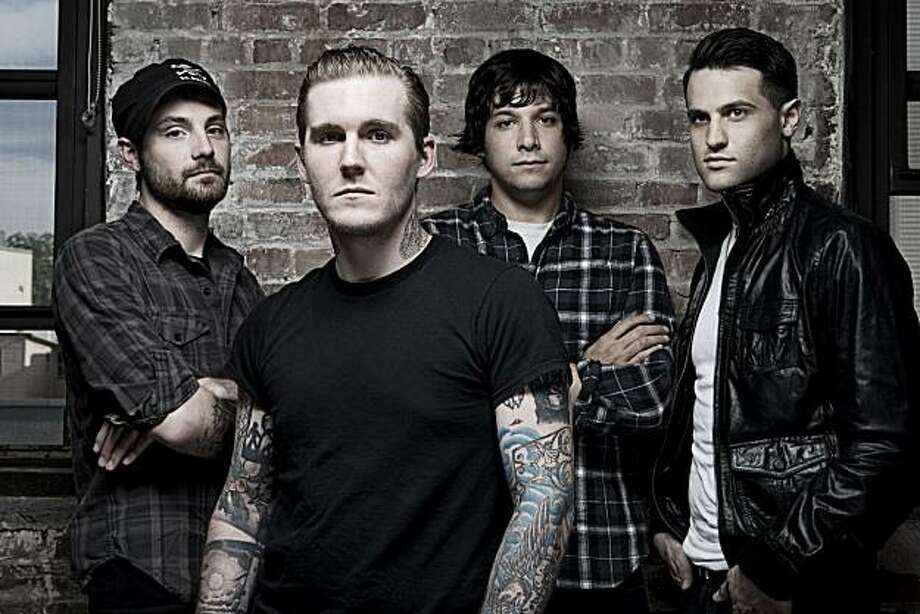 Gaslight Anthem (from left): Alex Rosamilla, Brian Fallon, Ben Horowitz, & Alex Levine Photo: Ashley Maile
