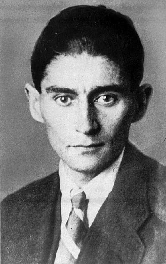 Undated handout file photo of author Franz Kafka. It could shed light on one of literature's darkest figures: A long-hidden trove of never-published writings by Franz Kafka retrieved from safety deposit boxes where they have sat for decades. Over the past week, the pages have been pulled out of 10 safety deposit boxes in Tel Aviv and Zurich, Switzerland, on the order of an Israeli court over the objections of two elderly women who claim to have inherited them from their mother. Photo: Anonymous, Associated Press