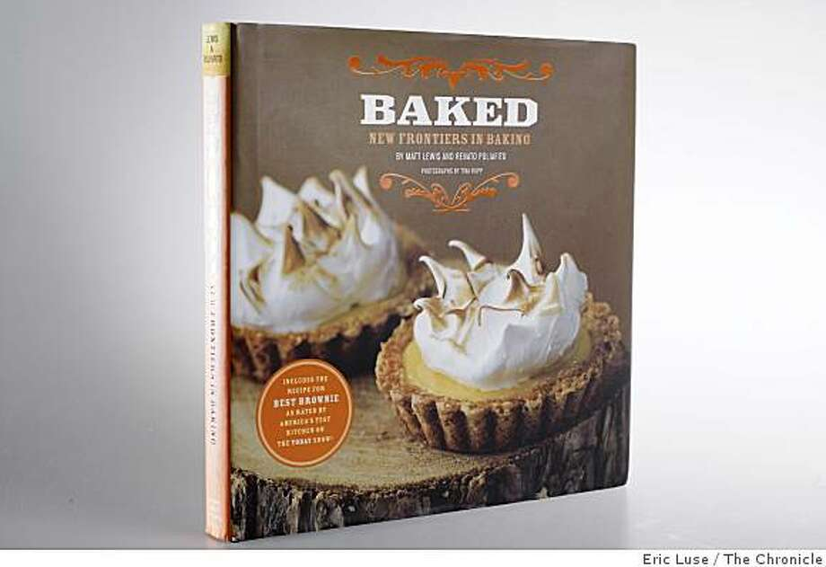 Baked cookbook  photographed on Tuesday, November 25, 2008 in San Francisco. Photo: Eric Luse, The Chronicle