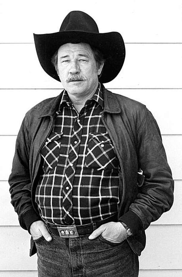 "James Gammon, a versatile character actor whose gravelly voice and craggy face made indelible memories in Sam Shepard plays, a spate of TV westerns and films, as well as a comic turn in the baseball movie ""Major League,"" died Friday, July 16, 2010, in Costa Mesa, California, at the age of 70. (Robert Gabriel/Los Angeles Times/MCT) Photo: Robert Gabriel, MCT"