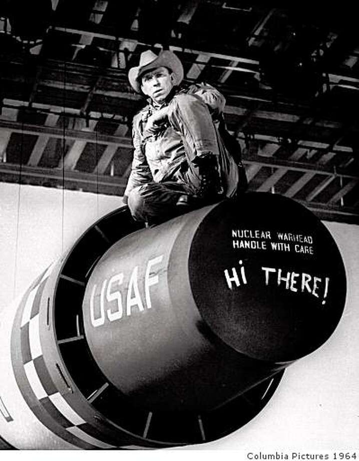"Slim Pickens in ""Dr. Strangelove."" Photo: Columbia Pictures 1964"
