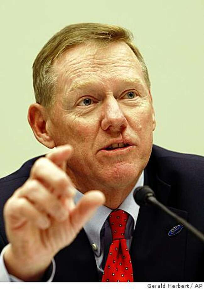 Ford Chief Executive Officer Alan Mulally Photo: Gerald Herbert, AP