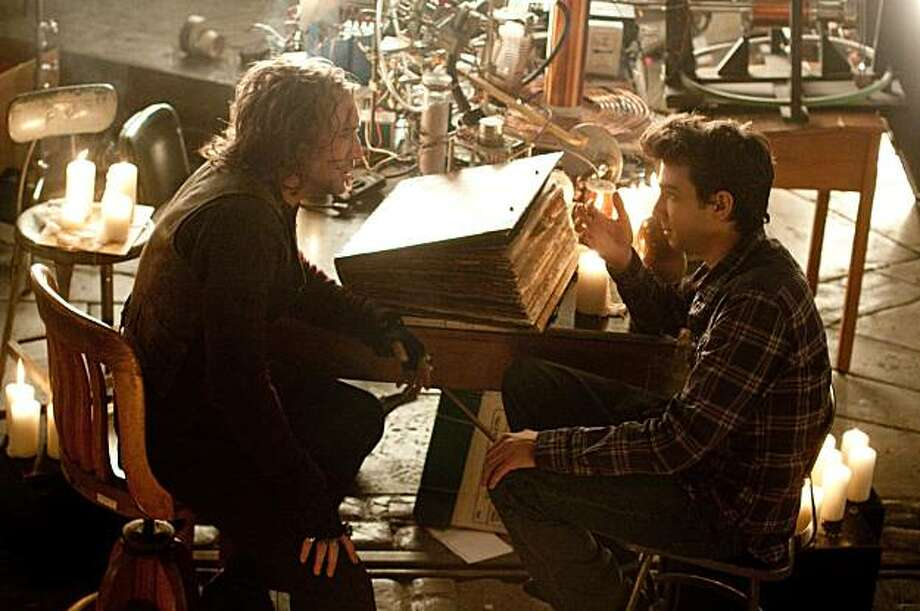 "Nicolas Cage and Jay Baruchel in ""The Sorcerer's Apprentice"" Photo: Disney"
