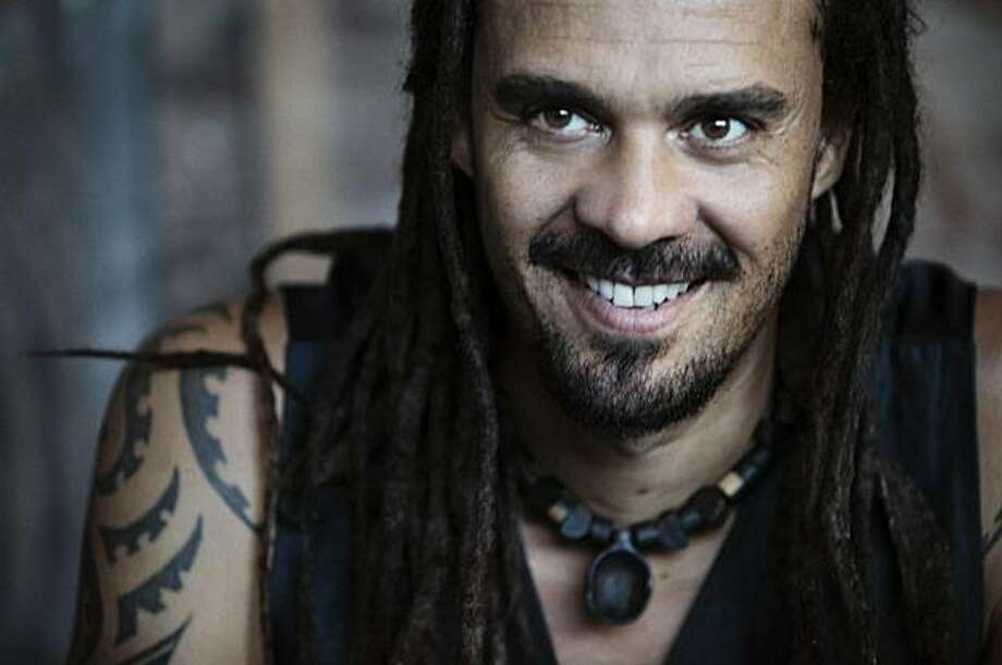Michael Franti of Spearhead recorded most of his new album while on the road with John Mayer earlier this year. Photo: James Minchin