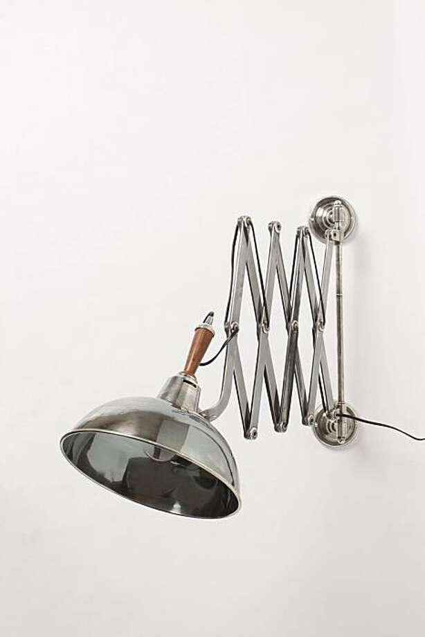 Far & Wide Sconce, Anthropologie Photo: Anthropologie