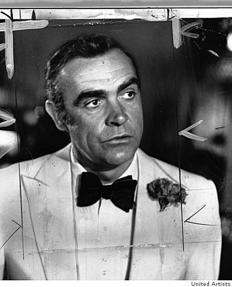 Sean Connery as James Bond. Photo: United Artists