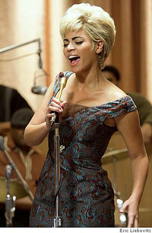 "Beyonc� Knowles as Etta James in Sony BMG Film, Parkwood Pictures and Tristar Pictures' drama ""Cadillac Records."" Photo: Eric Liebowitz"