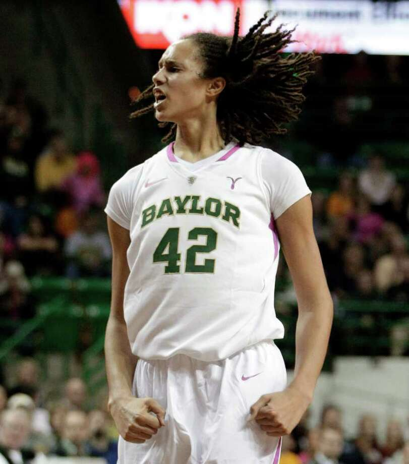 Brittney Griner says the Lady Bears have been ready for today's game since losing to A&M in NCAA play. Photo: Tony Gutierrez / AP