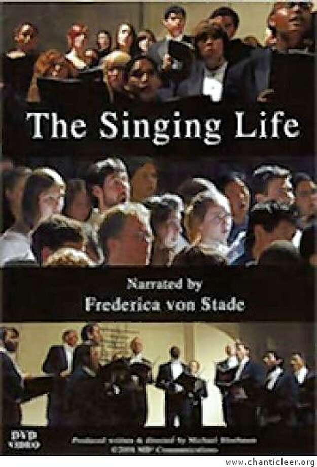 dvd cover THE SINGING LIFE Photo: Www.chanticleer.org