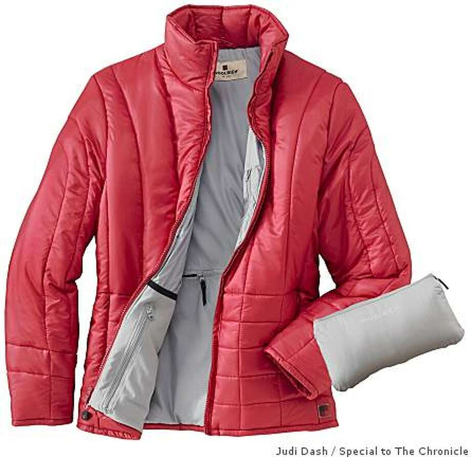 The new Thinsulite �LiteLoft� Packable Jackets from Woolrich have box-quilted insulation under a featherweight water resistant ripstop nylon shell. Photo: Judi Dash, Special To The Chronicle