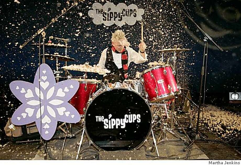 The Sippy Cups present a holiday show for kids Dec. 7. Photo: Martha Jenkins