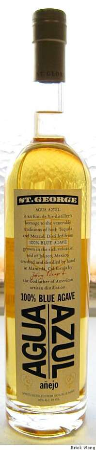 St. George Spirits, a distillery in Alameda, recently released its premier bottlings of agave spirit called Agua AzulSt. George Agua Azul Photo: Erick Wong, The Chronicle