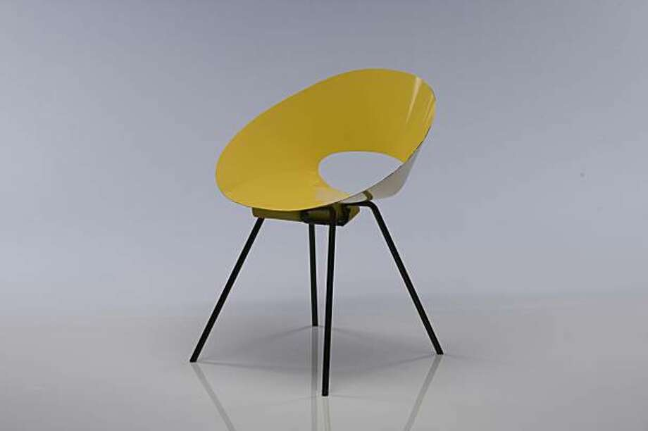 Molded plastic chair from Knoll. Photo: Courtesy Of Rizzoli