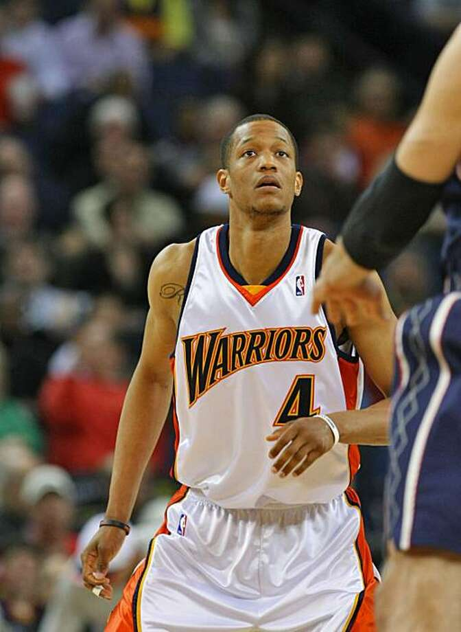 Golden State Warriors Anthony Randolph in playing in the first half against New Jersey Nets, Wed. March 11, 2009, in Oakland,Calif. Photo: Lacy Atkins, The Chronicle