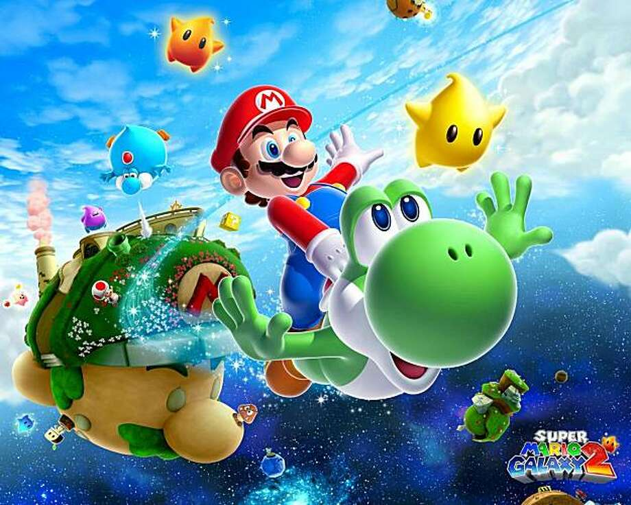 Super Mario Galaxy 2 is the most critically acclaimed game so far this year. Photo: Courtesy Nintendo Of America