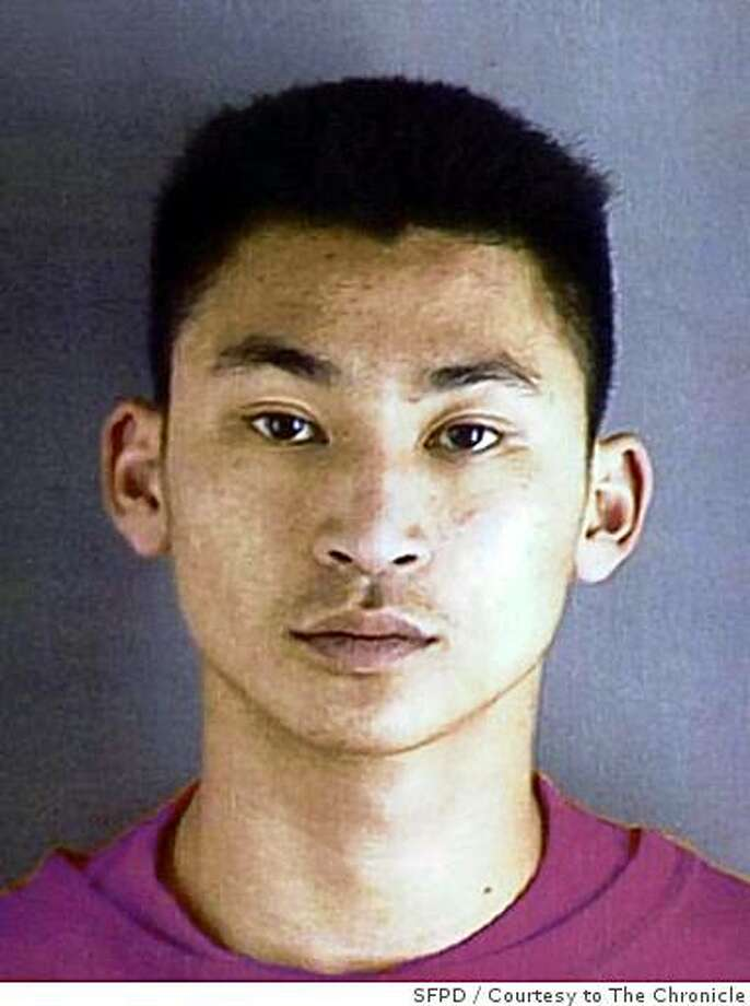 Eric Siu was named by the SFPD as a person of interest in a double-killing in March 2008 outside a pizza parlor on Irving Street. Photo: SFPD, Courtesy To The Chronicle