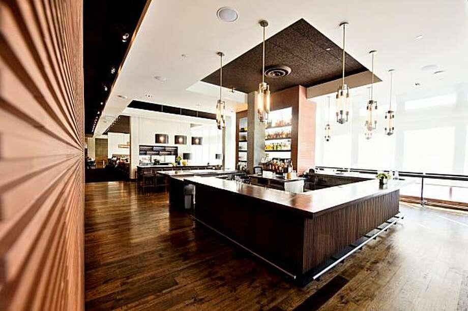 Interior of Prospect restaurant. Photo: Todd Parsons