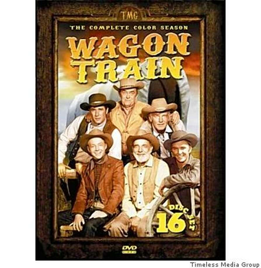 DVD cover: Wagon Train Photo: Timeless Media Group