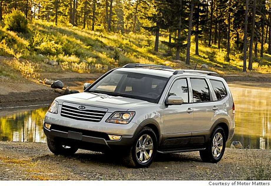 2009 Kia Borrego Photo: Courtesy Of Motor Matters