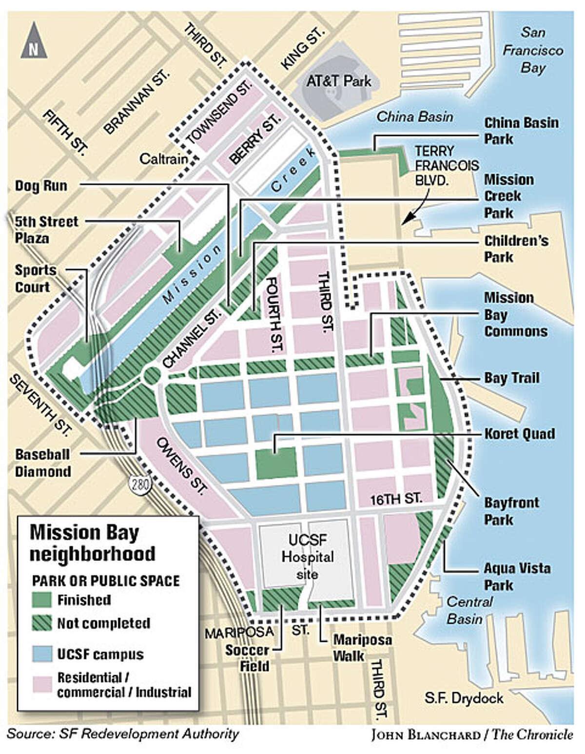 Mission Bay (John Blanchard / The Chronicle)