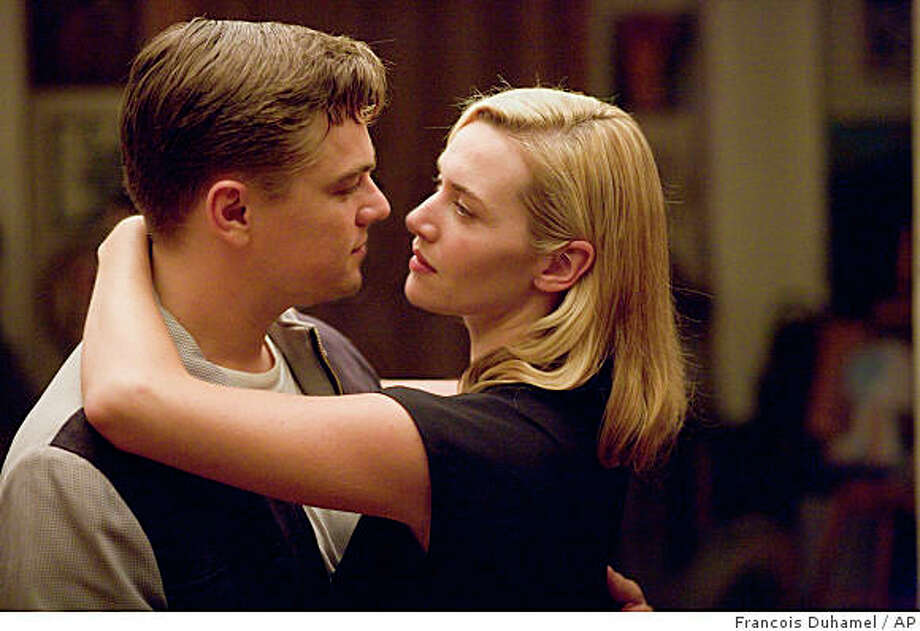 """In this image released by Paramount Vantage, Leonardo DiCaprio, left, and Kate Winslet are shown in a scene from, """"Revolutionary Road."""" Photo: Francois Duhamel, AP / ONLINE_CHECK"""
