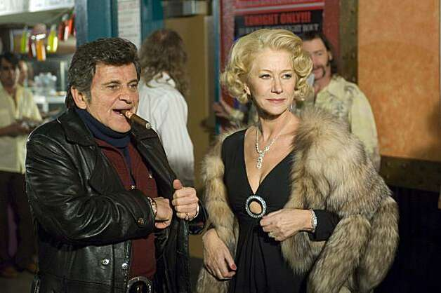 "In this film publicity image released by E1 Entertainment, Joe Pesci portrays Charlie Bontempo and Helen Mirren portrays Grace Bontempo in a scene from ""Love Ranch."" Photo: Richard Foreman, AP"