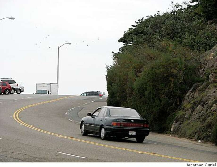 The turn that's near the Cliff House in S.F. Photo: Jonathan Curiel