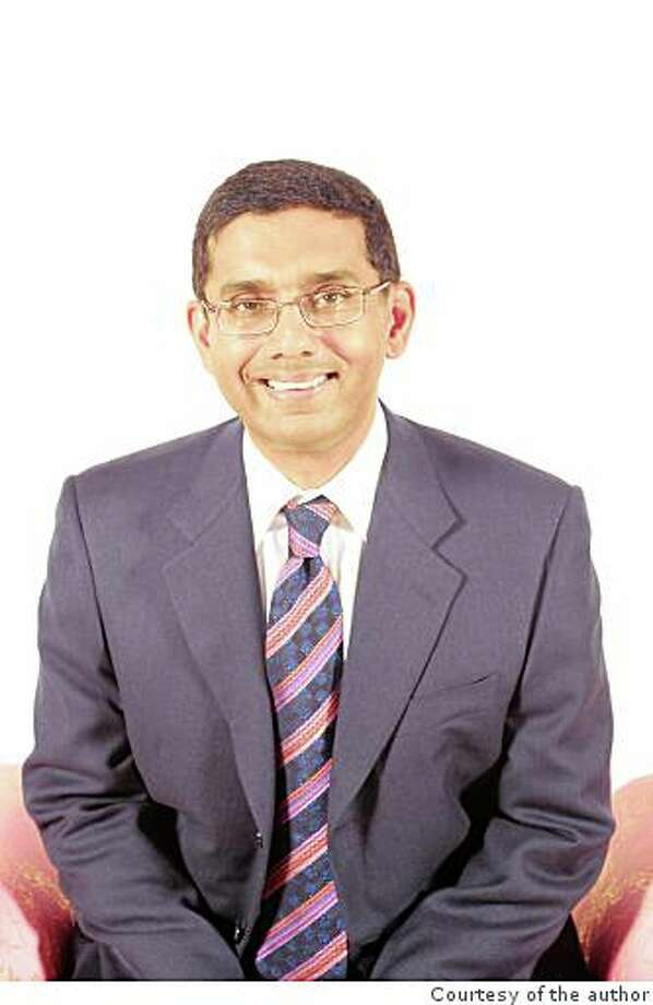 """Dinesh D'Souza will speak at Grace Cathedral on Dec. 4. His latest book, """"What's So Great About Christianity,"""" recently came out in paperback. Photo: Courtesy Of The Author"""