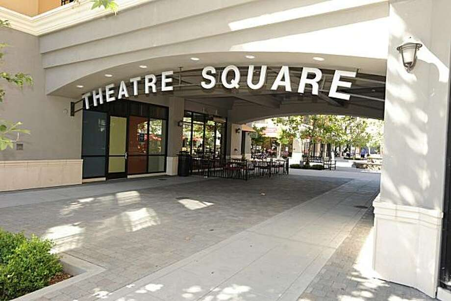 A shot of Theatre Square in Petaluma for the community profile of Petaluma. Photo: Ashley Munro, Sf.BlockShopper.com
