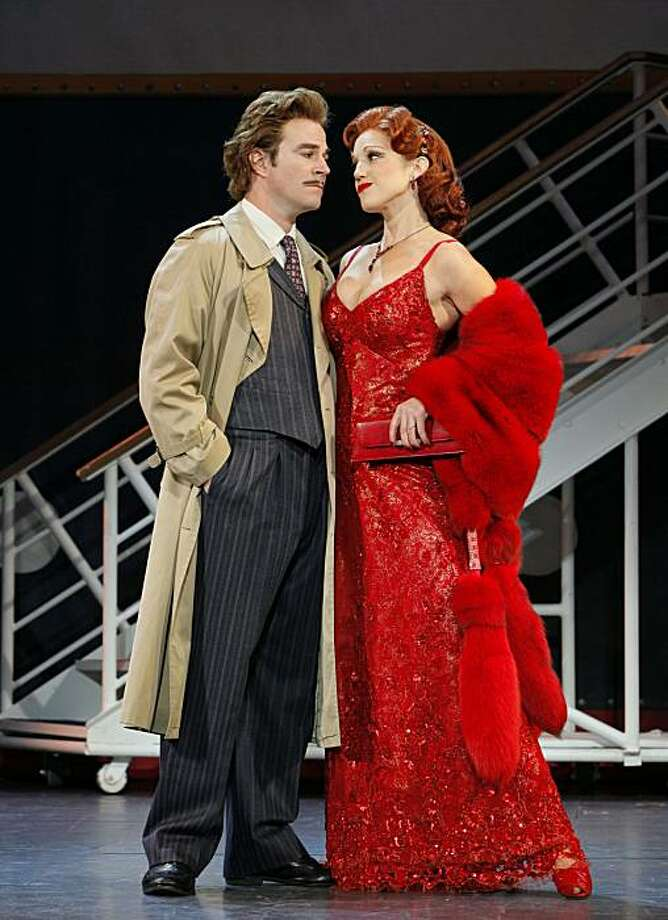 "Roger Bart & Beth Curry . in the National Tour of ""Young Frankenstein."" Photo: Paul Kolnik"