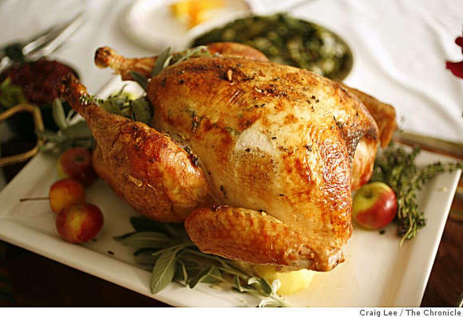Best Way Brined Turkey. Photo: Craig Lee, The Chronicle