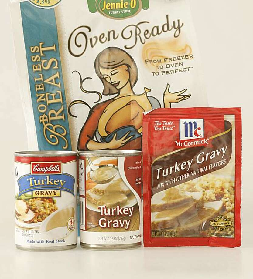 Quick and easy Thanksgiving products. Francisco, Calif., on November 20, 2008. Photo: Craig Lee, The Chronicle