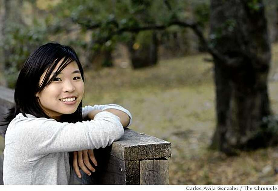 "Clara Tsao, who's a senior at Miramonte High, created a non-profit organization, �Design for a Better Future,"" which is intended to raise funds to provide assistance in developing countries. She's motivated by a desire to help protect the environment. The 17-year-old Moraga teen, has embarked on a new enterprise by which she hopes to help alleviate humanitarian crises in third-world countries. Photo: Carlos Avila Gonzalez, The Chronicle"