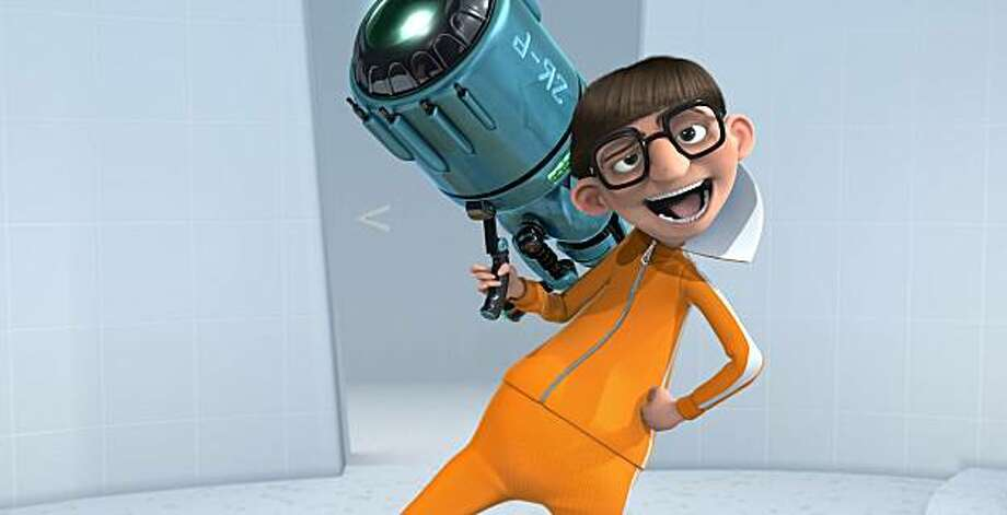 """Gru's nemesis, Vector (JASON SEGEL), shows off the shrink ray in Universal Pictures and Illumination Entertainment's inaugural 3-D CGI feature, """"Despicable Me"""". The film tells the story of one the world's greatest villains who meets his match in three little girls. Photo: Universal Pictures"""