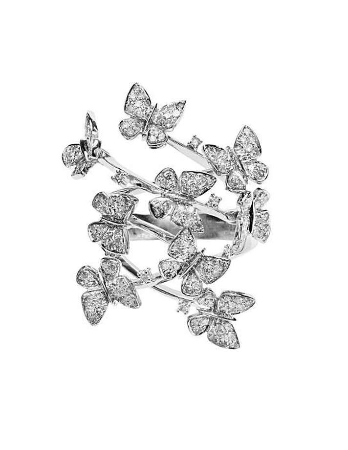 Marsha Varrow's signature diamond and white gold butterfly ring Photo: Marsha Varrow