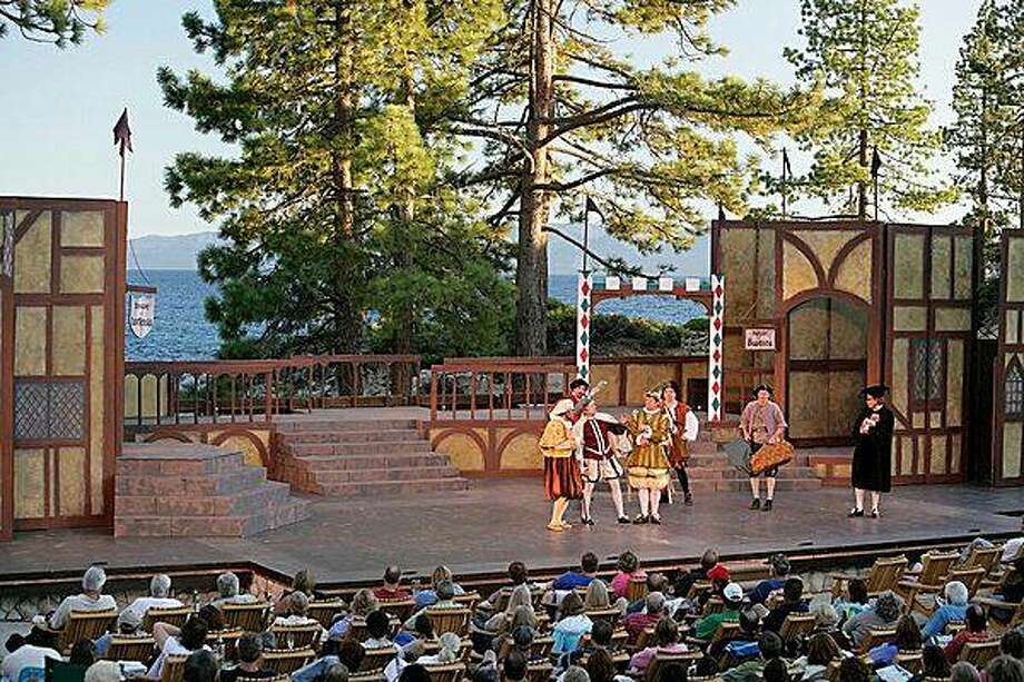 The Lake Tahoe Shakespeare Company performs at Sand Harbor State Park, Nevada Photo: Jeffrey Dow
