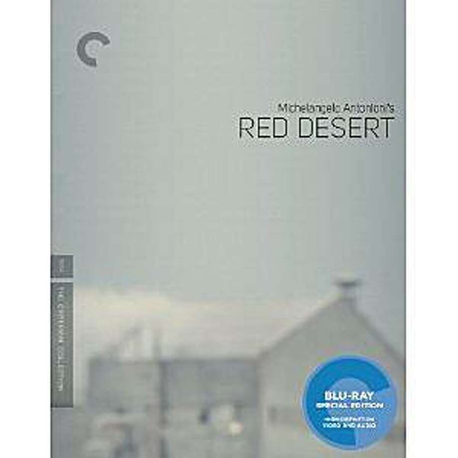 dvd cover RED DESERT Photo: Amazon.com