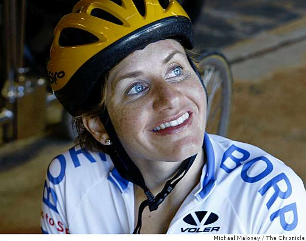 Cheri Blauwet, 28 of San Francisco, participates in the Bay Area Outreach & Recreation Program. She's a two time winner of the Boston Marathon women's wheelchair race.