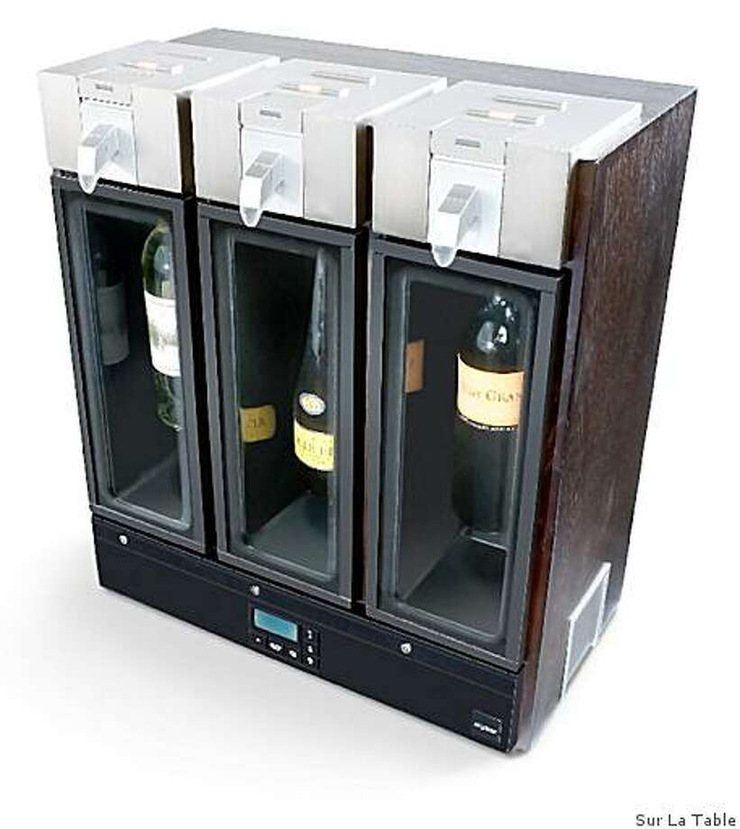 Skybar Wine System from Sur La Table, for the 2008 Wine Gift Guide Photo: Sur La Table