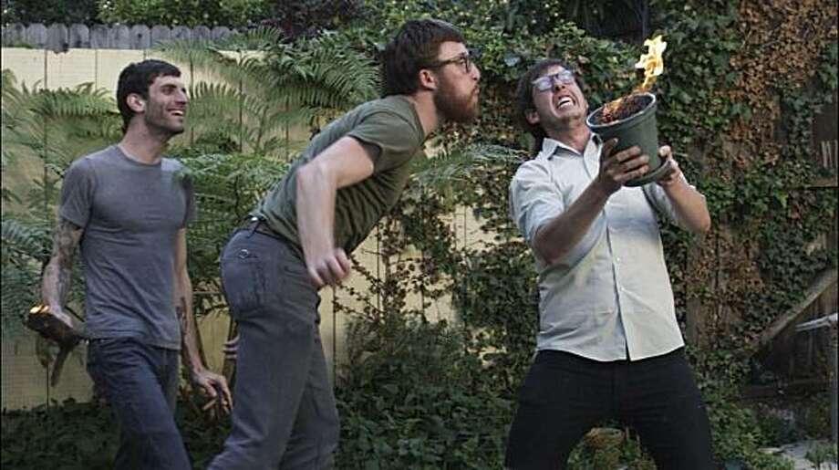 Boyz IV Men: (L-R) Josh Hill, Aaron Rodriguez, and Trevor Goosen Photo: David Luraschi