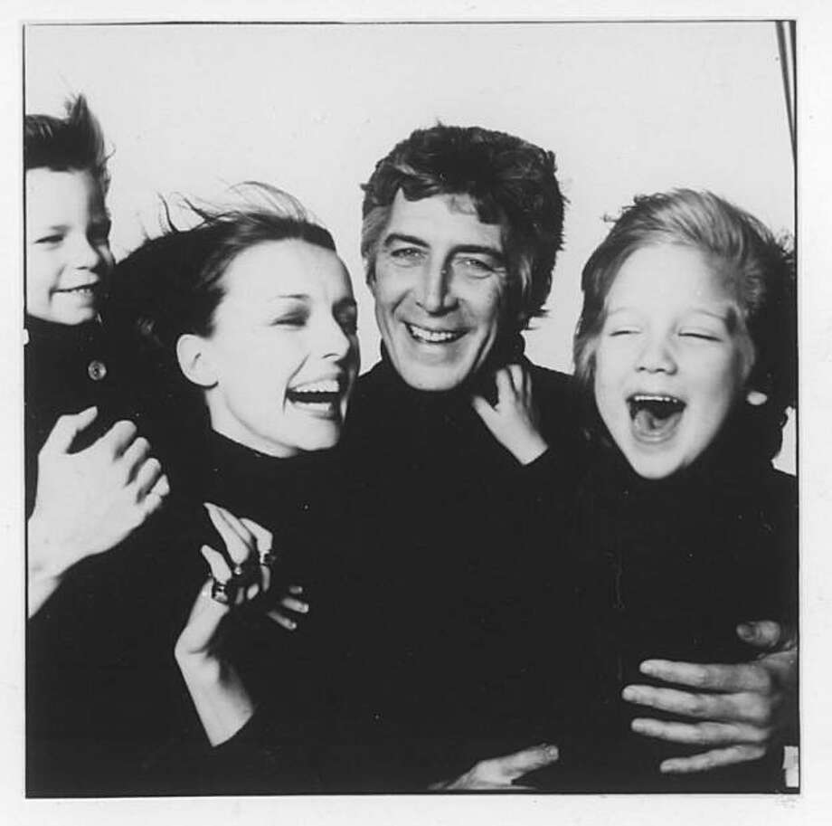 Cynthia O'Neal with her late husband, actor Patrick O'Neal,  and their sons, Max and Fitz Photo: Bill King, Courtesy Cynthia O'Neal