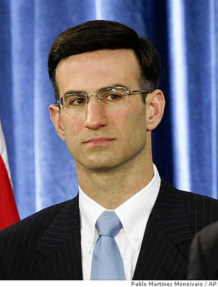 Budget Director-designate Peter Orszag during a news conference in Chicago, Tuesday, Nov. 25, 2008. (AP Photo/Pablo Martinez Monsivais) Photo: Pablo Martinez Monsivais, AP