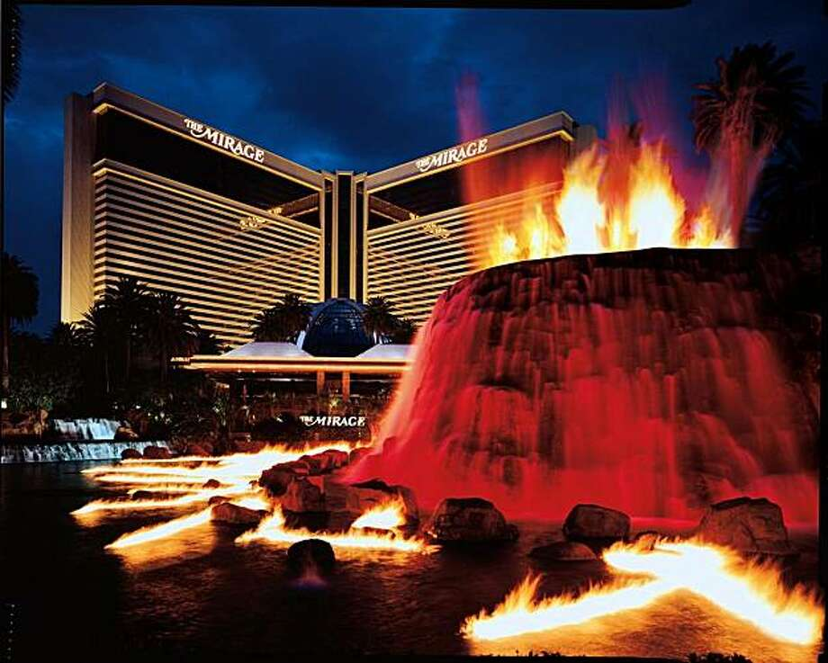 The Volcano, which has been erupting outside the Mirage Hotel and Casino on Las Vegas' Strip since 1989, is getting a makeover that will include a soundtrack by Grateful Dead drummer Mickey Hart. Photo: Mirage Hotel And Casino