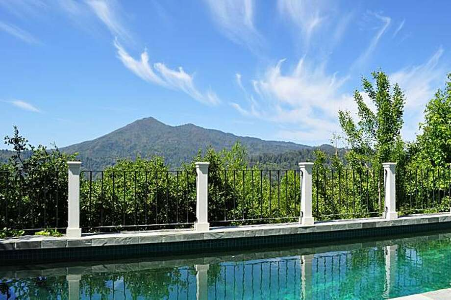 Another shot of the pool at 245 Upper Toyon Drive in Kentfield for Hot Property. Photo: Courtesy Patrick Carney