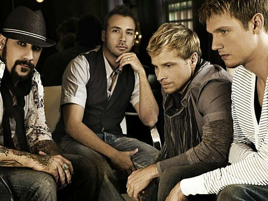 Backstreet Boys 2010, now with 97-percent less manicured facial hair Photo: Jive