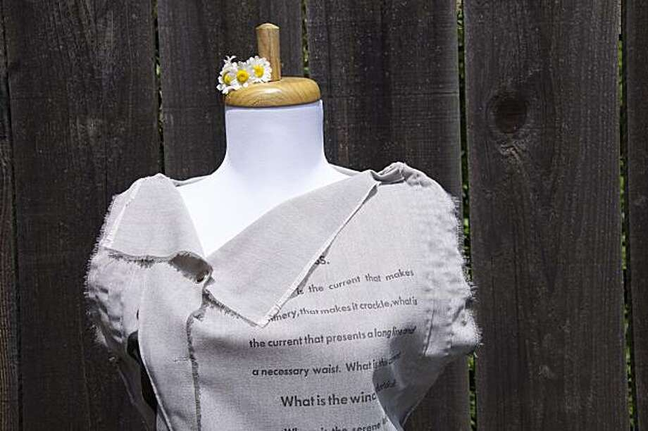 "From ""The Dresses/ Objects Project."" Photo: Katrina Rodabaugh"