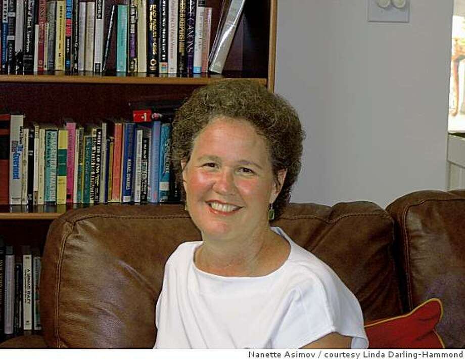 Linda Darling-Hammond, education professor, Stanford University; co-director School Redesign Network; Photo to accompany profile of LDH, who leaves for Washington DC on Monday 11.10.08 to lead Obama's education policy transition team. She expects to be there for two months. Photo: Nanette Asimov, Courtesy Linda Darling-Hammond