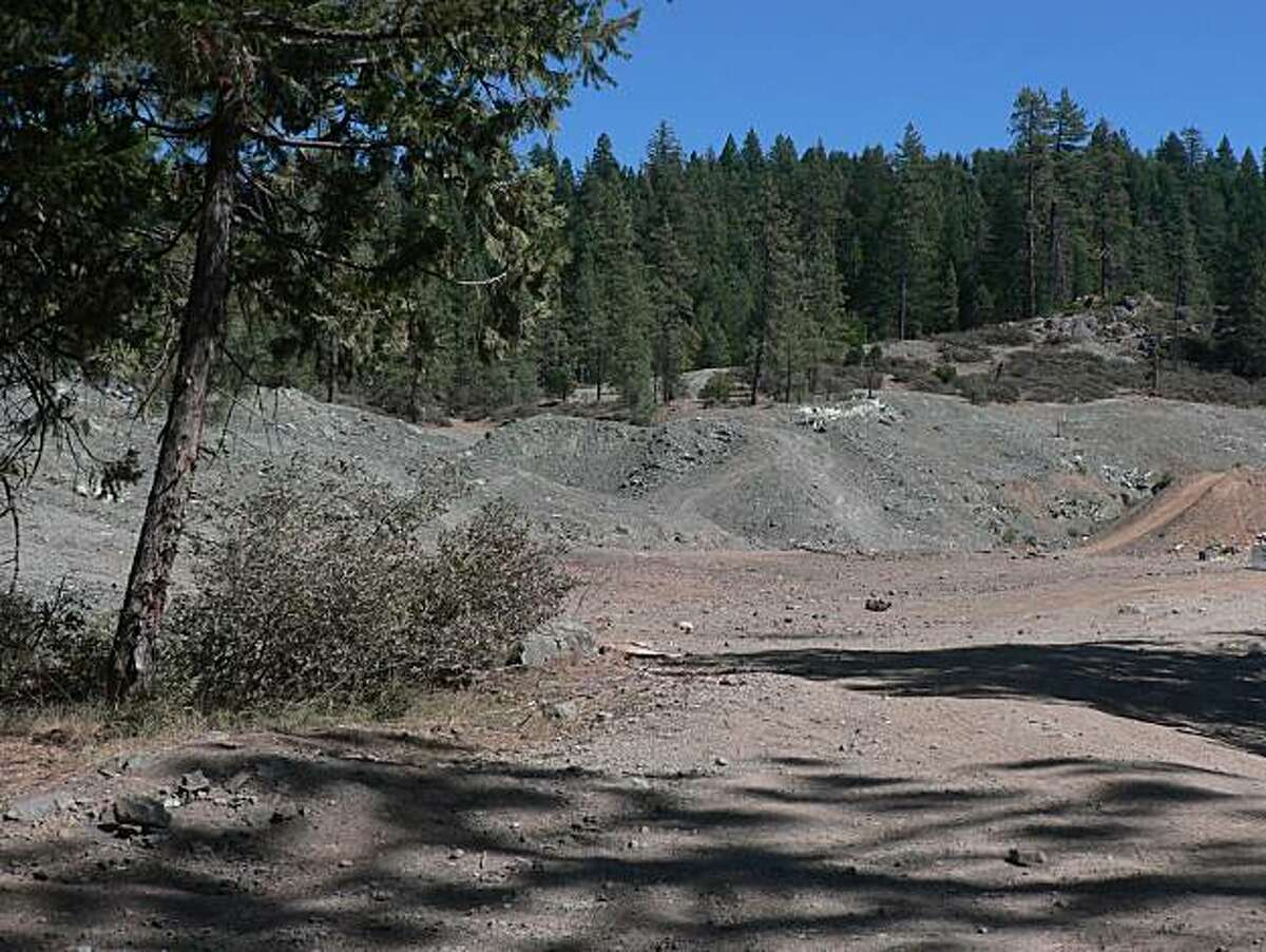 The Marall Chrome Mine in Placer County. The Sierra Fund has released a report that identifies public lands in the Sierra Nevada where trail users risk exposure to toxic minerals released by historic mining.