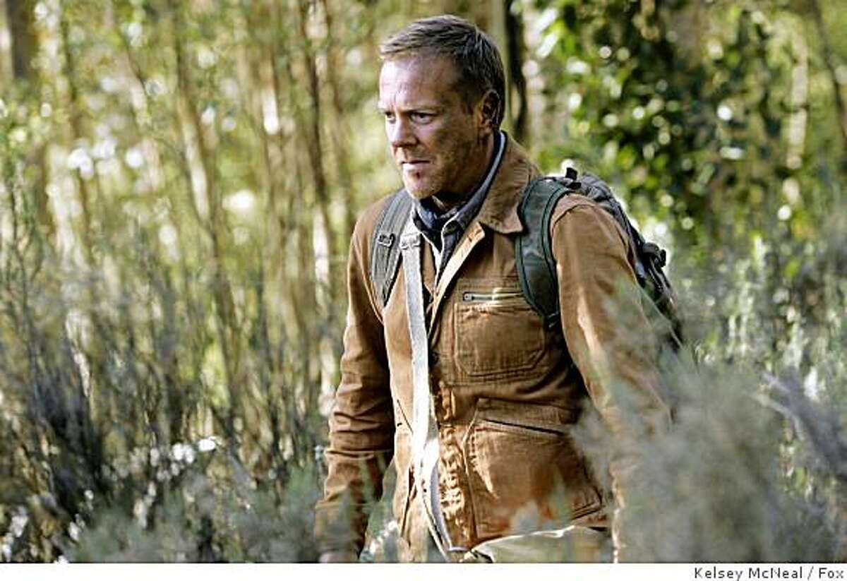 Kiefer Sutherland is shown in a scene from the film
