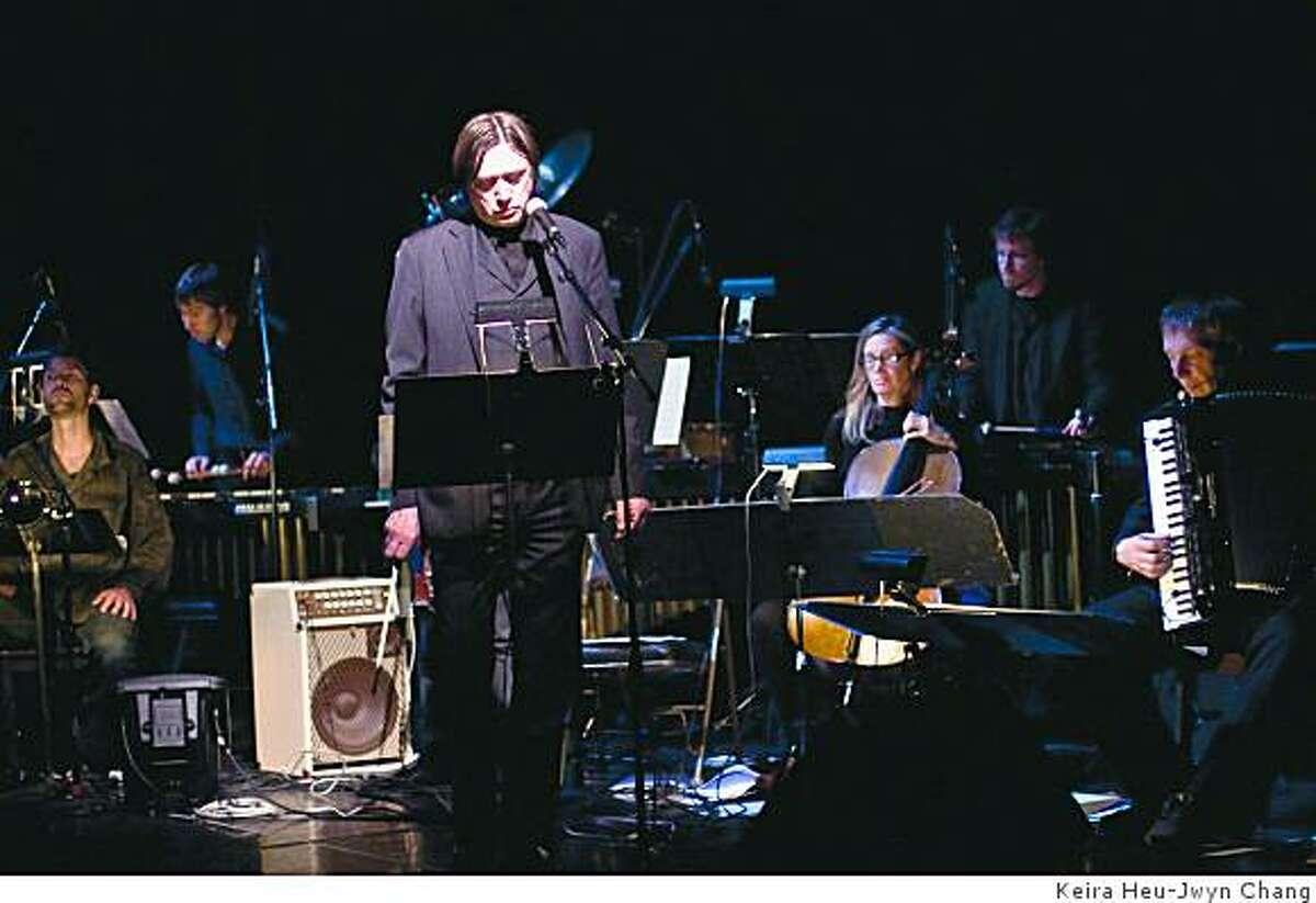Blixa Bargeld and Nanos Operetta perform Execution of Precious Memoriesat Yerba Buena Center on Wednesday Nov, 19, 2008